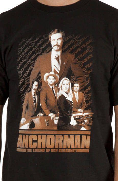 Collage Anchorman Shirt
