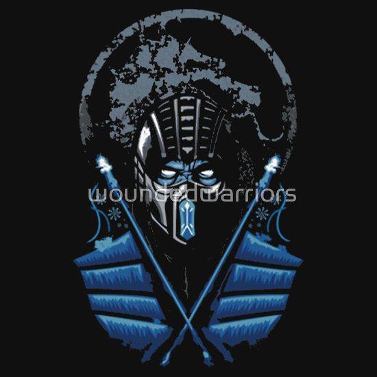 Mortal Kombat - Sub Zero by woundedwarriors T-Shirt