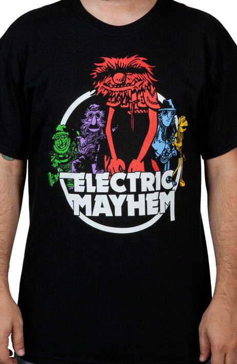Muppets Electric Mayhem Shirt