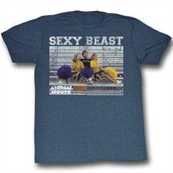 Animal House Shirt Sexy Beast Adult Blue Tee T-Shirt