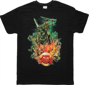 Army of Darkness Graham Humphreys Artwork T-Shirt
