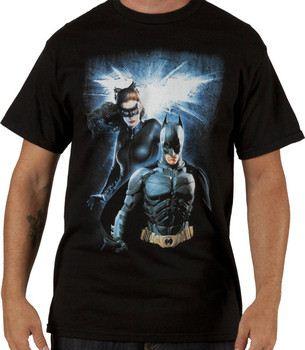 Batman and Catwoman Dark Knight Rises Shirt
