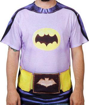 60s Batman Costume Shirt