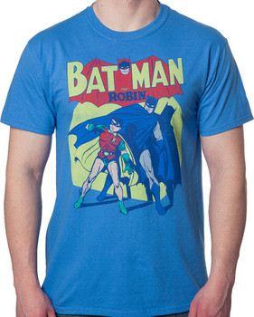 Sheldon's Batman and Robin Shirt