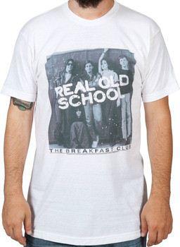 Real Old School Breakfast Club Shirt