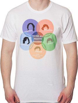 Venn Diagram Breakfast Club T-Shirt
