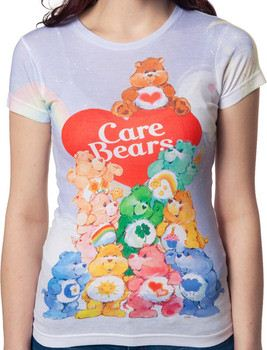 Group Sublimation Care Bears Shirt