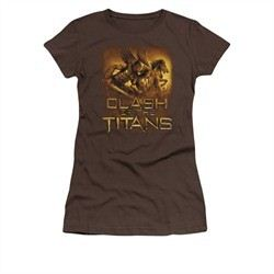 Clash Of The Titans Shirt Juniors Heroes Coffee Tee T-Shirt