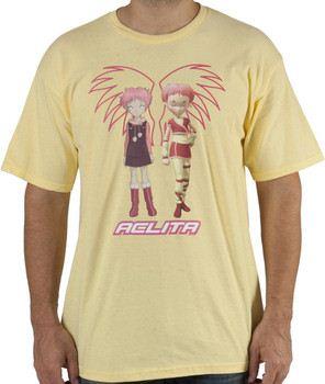 Code Lyoko Aelita Shirt
