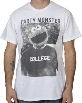 Party Monster Cookie Monster Shirt
