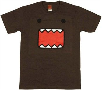 Domo Kun Big Face T-Shirt Sheer