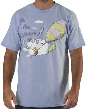 Dr. Seuss Oh The Places Youll Go T-Shirt