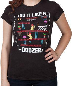 Jr Doozer Kong Fraggle Rock Shirt