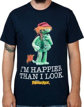Happier Than I Look Boober Shirt