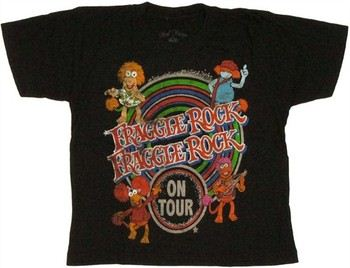 Fraggle Rock On Tour Juvenile T-Shirt