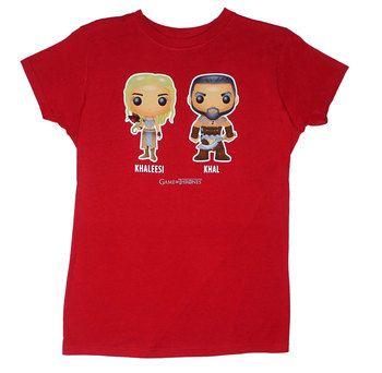 Khaleesi And Khal - Game Of Thrones Juniors T-shirt
