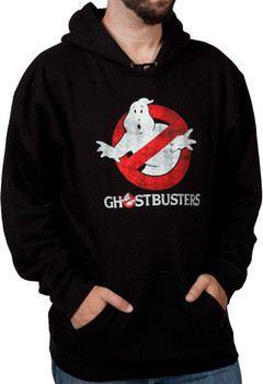 Distressed Ghostbusters Logo Hoodie