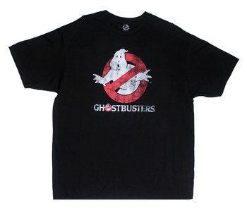 Ghostbusters Logo (Glow In The Dark) - Ghostbusters Sheer T-shirt
