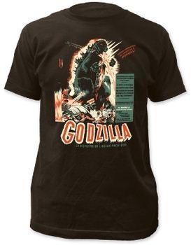Godzilla Vintage Poster Men's Premium Soft T-Shirt
