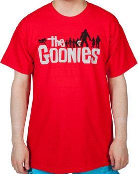 Red Goonies T Shirt