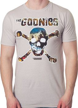 Goonies Skull Collage Shirt