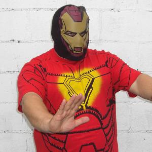 Iron Man T-Shirt Costume