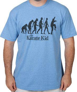 Evolution Crane Kick Karate Kid Shirt