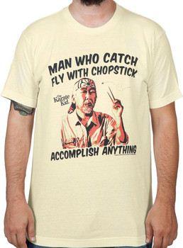 Miyagi Chopsticks Karate Kid Shirt