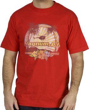 Hawaiian Sunset Magnum P.I. Shirt