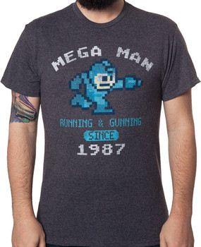 1987 Mega Man T-Shirt