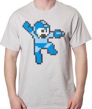 Ice Gray Mega Man Shirt