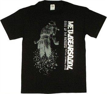 Metal Gear Solid 4 Guns of the Patriots Foil Name T-Shirt