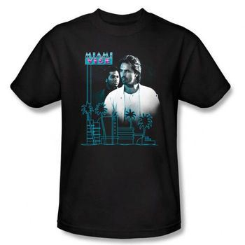Miami Vice Looking Out T-Shirt