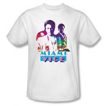 Miami Vice Crockett and Tubbs T-Shirt