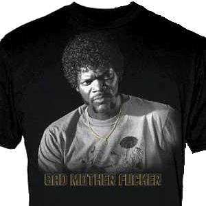 Jules Winnfield Bad Mother F*cker Pulp Fiction T-Shirt