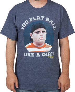 Play Ball Like A Girl Sandlot Shirt