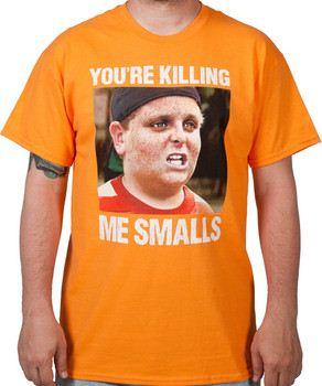 Orange Killing Me Smalls Shirt