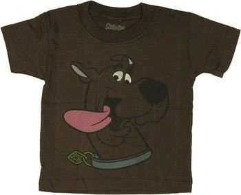 Scooby Doo Tongue Hanging Out Toddler T-Shirt