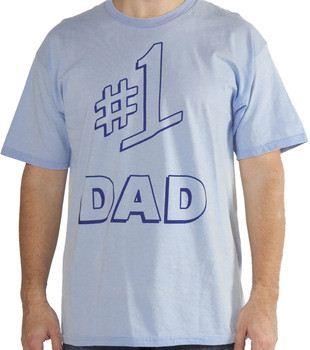 #1 Dad Shirt