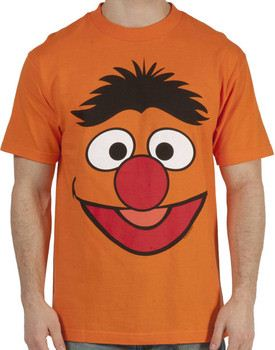 Sesame Street Ernie Face T-Shirt