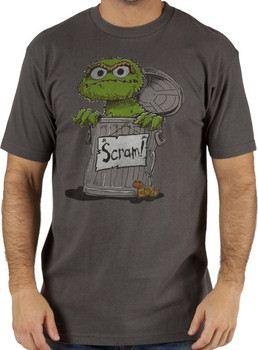 Sesame Street Oscar the Grouch Scram T-Shirt