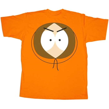 Kenny McCormick South Park Face T-Shirt