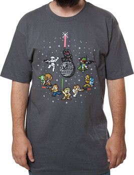 Star Wars 8-Bit Galaxy Shirt