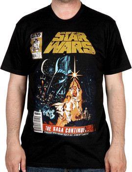 The Saga Continues Star Wars Shirt