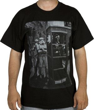 Star Wars Payphone Darth Vader Shirt