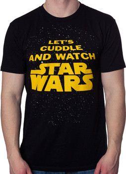 Cuddle and Watch Star Wars Shirt