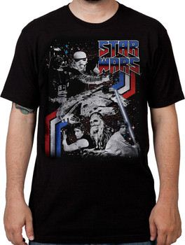 Double Sides Star Wars T-Shirt