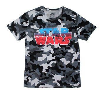 Camouflage Logo - Star Wars T-shirt