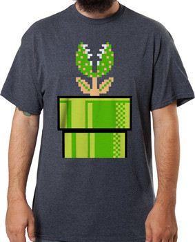 Super Mario Pipe Piranha T-Shirt