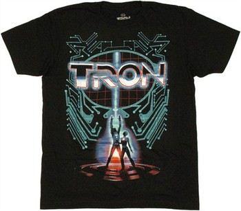 Tron Movie Poster T-Shirt Sheer